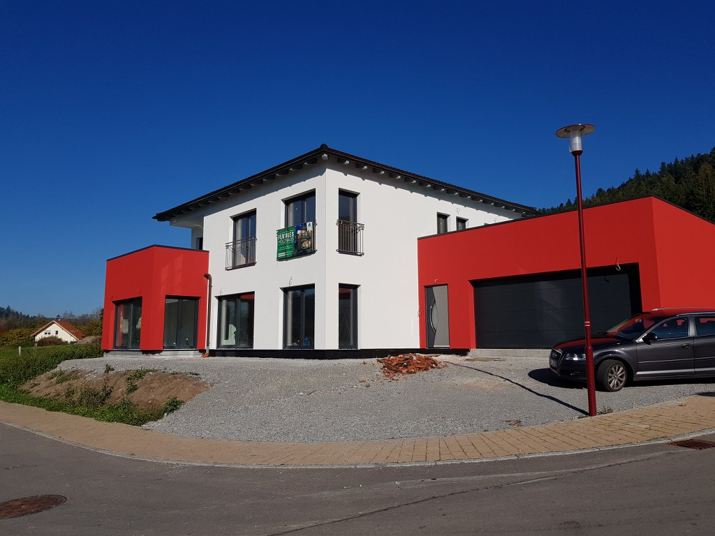 Holz Haus Construction (46) Fertighaus - Ausbauhaus Häuser mit ...
