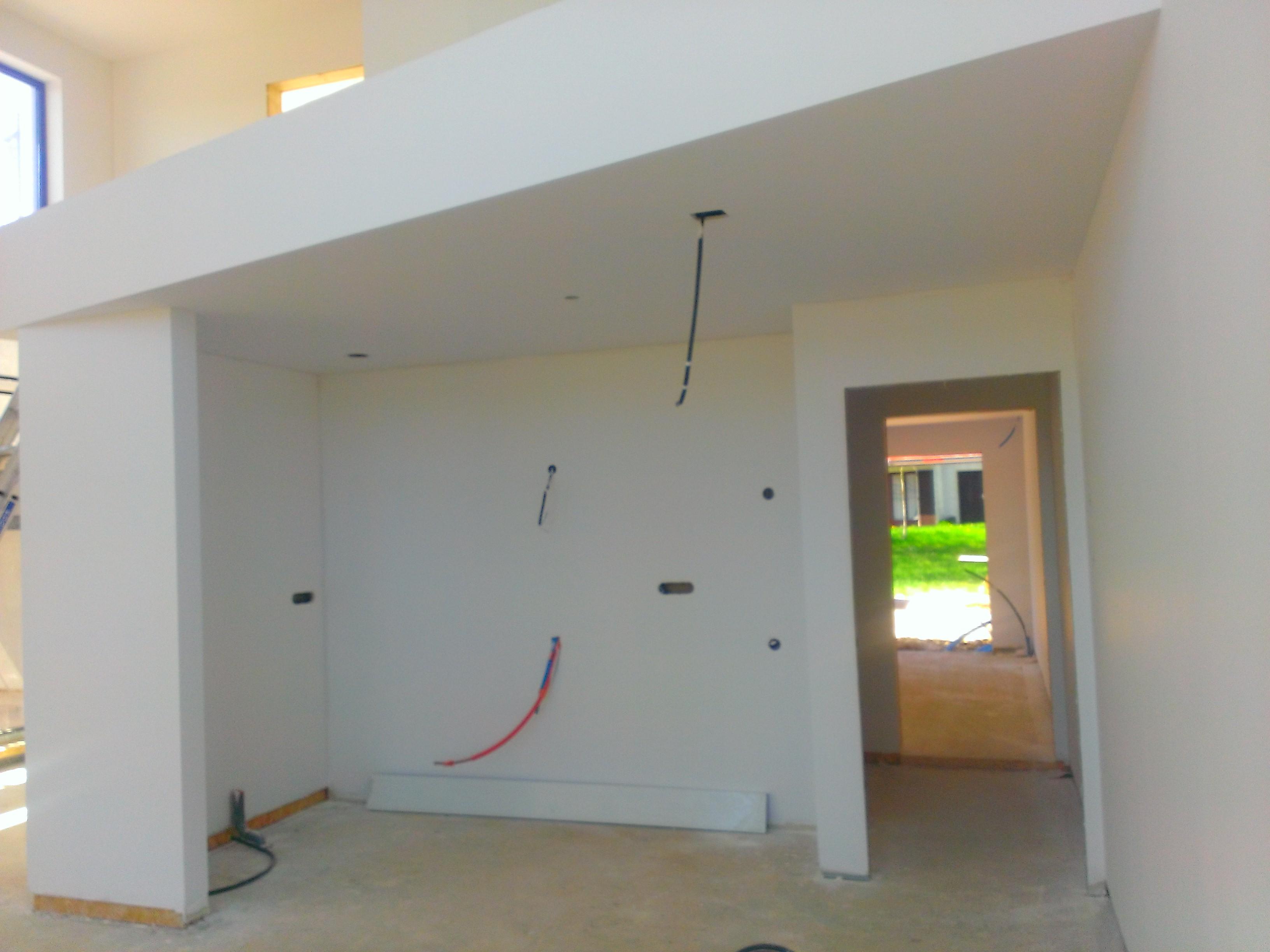 Berühmt Holz Haus Construction -Innenputz verputzen Putzarbeiten auf PP59